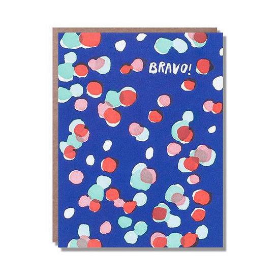 EGG PRESS Bravo Dots Card