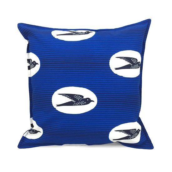 SCENERY LABEL Wax Cushion Birds