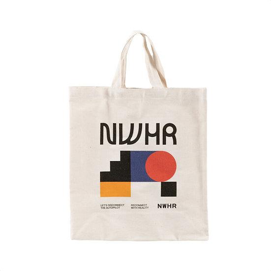NWHR Geometric Tote Bag