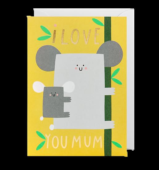 SUSIE HAMMER Love Mum Card