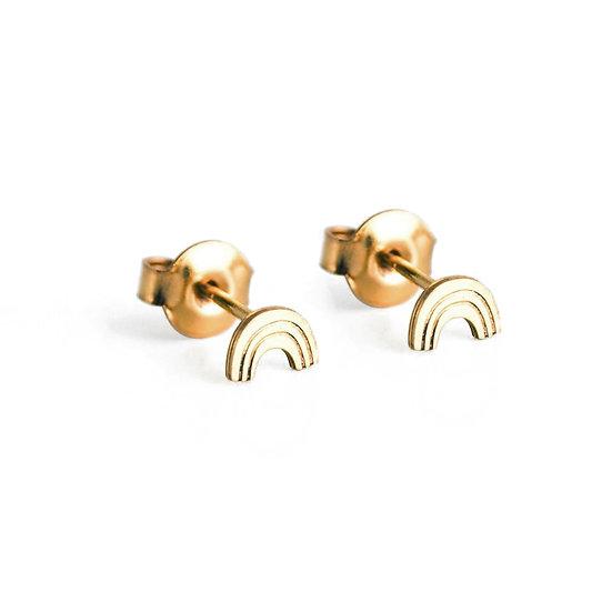 ADORABILI Rainbow Stud Earrings