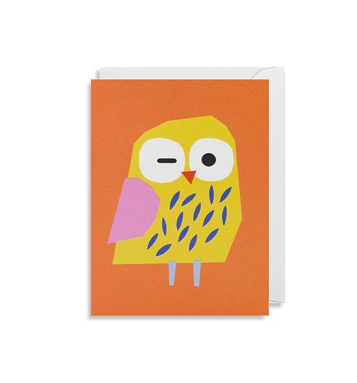 EKATERINA TRUKHAN Owl Card