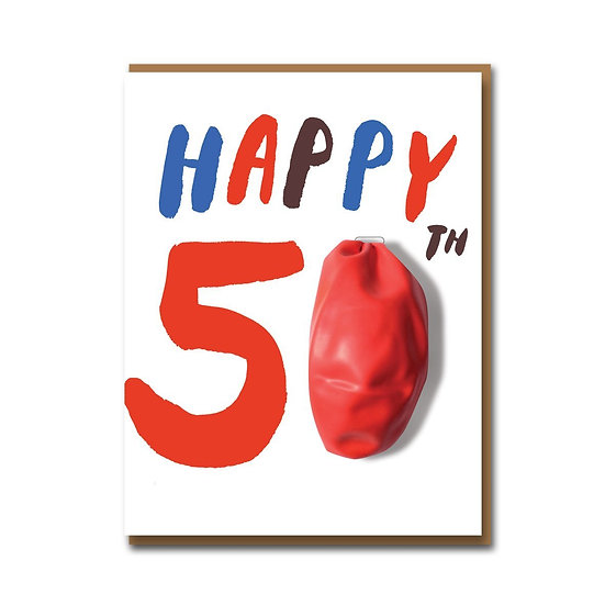 EGG PRESS 50th Card