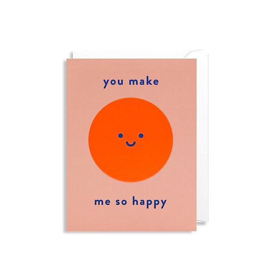 KELLY HYATT So Happy Card
