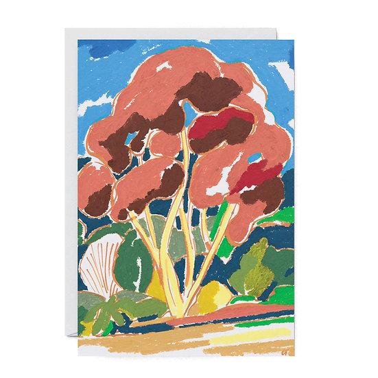 CHARLOTTE TROUNCE Copper Tree Card