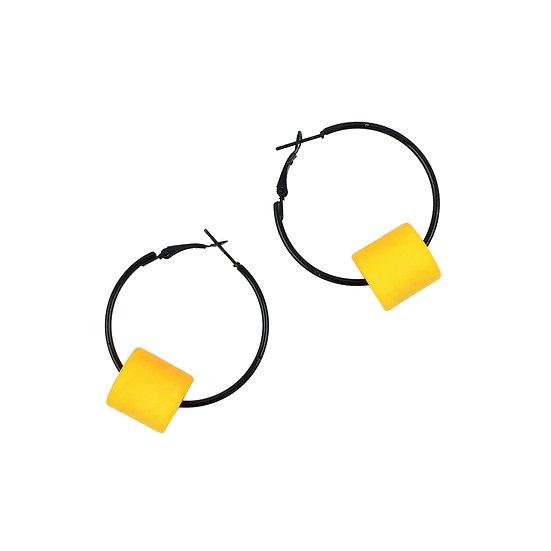 WHOLESALE Medium Hoop Yellow Drum