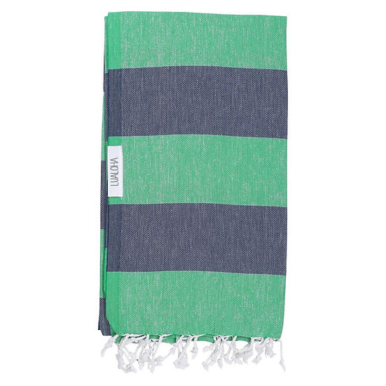 LUALOHA Blue Green Towel