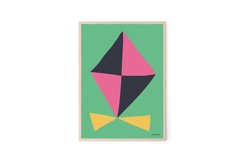 MAMAHOELA Kite Print