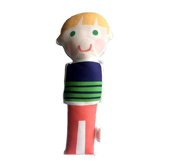 EMILY SPIKINGS Boy Doll Blonde