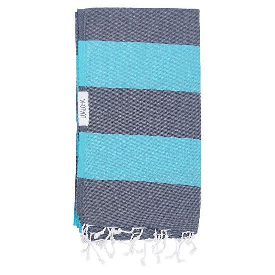 LUALOHA Blue Aqua Towel
