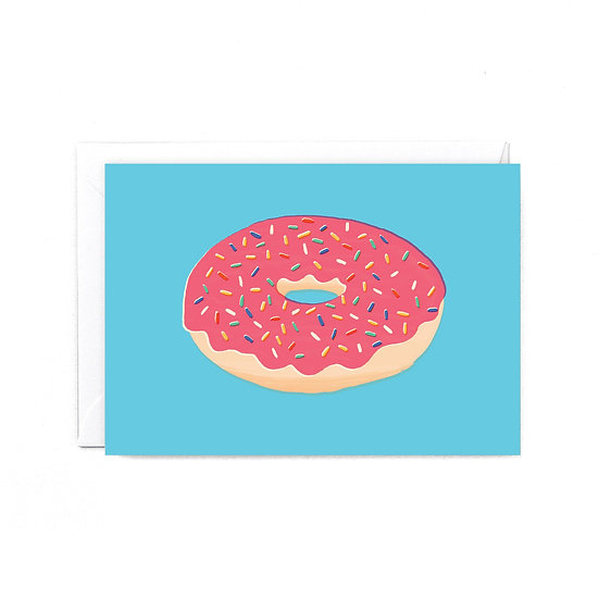 RUBY TAYLOR Doughnut Card