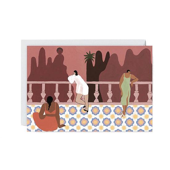 ISABELLE FELIU The Balcony Card