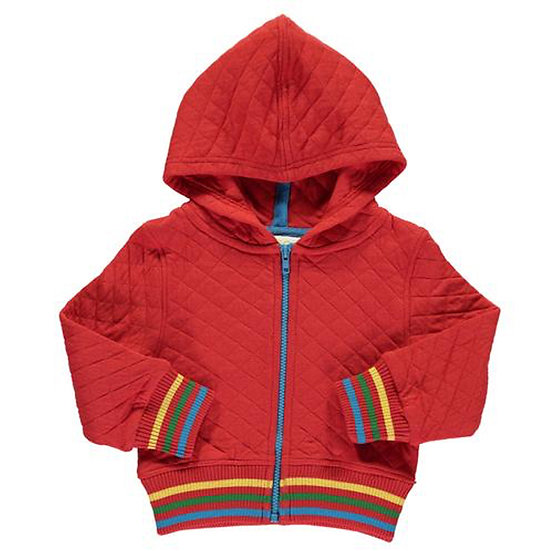 BOYS & GIRLS Quilted Zip Jacket