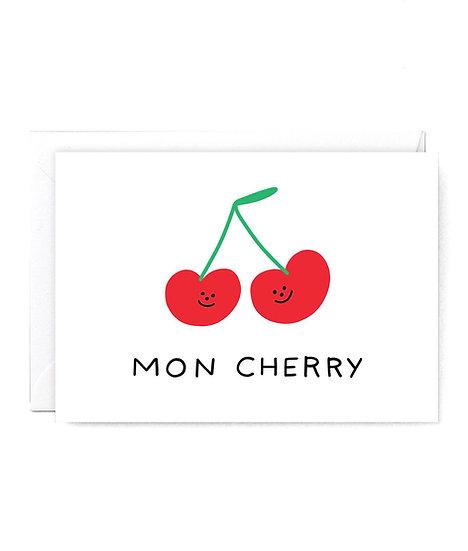 HOLLY ST CLAIR Mon Cherry Card