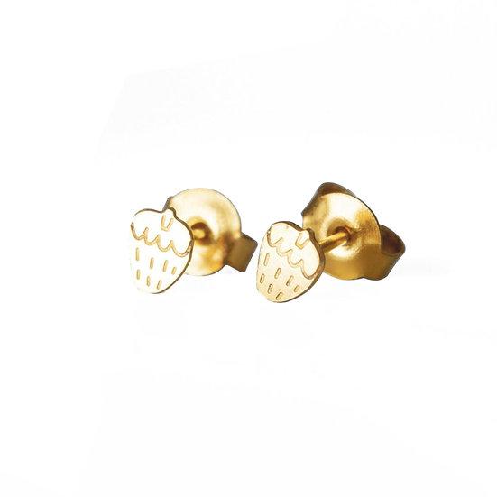 ADORABILI Strawberry Stud Earrings