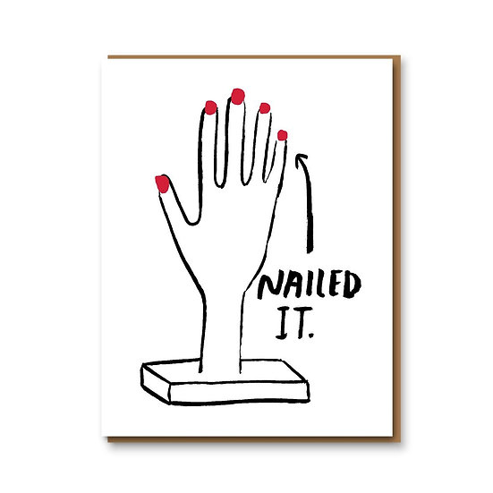 PEOPLE I'VE LOVED Nailed It Card