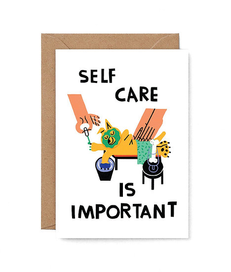 CARI VANDER YACHT Self Care Card