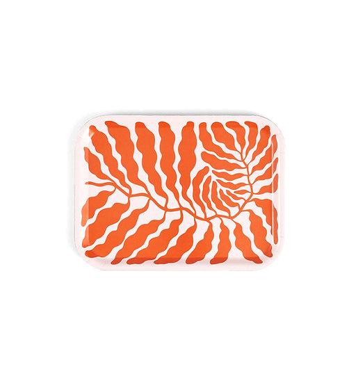 LINNEA ANDERSSON Orange Leaves Tray