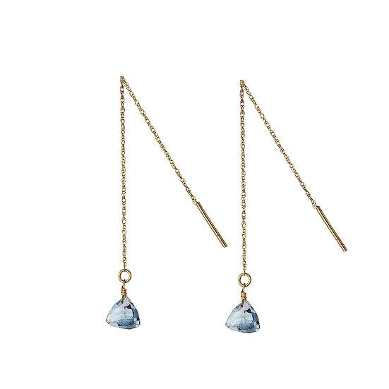 JUULRY Blue Topaz Earrings