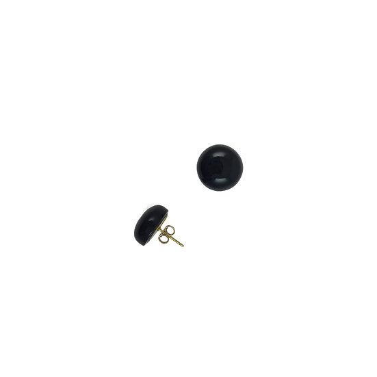 SCENERY LABEL Stud Earrings Large
