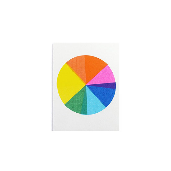 SCOUT EDITIONS Colour Wheel Card