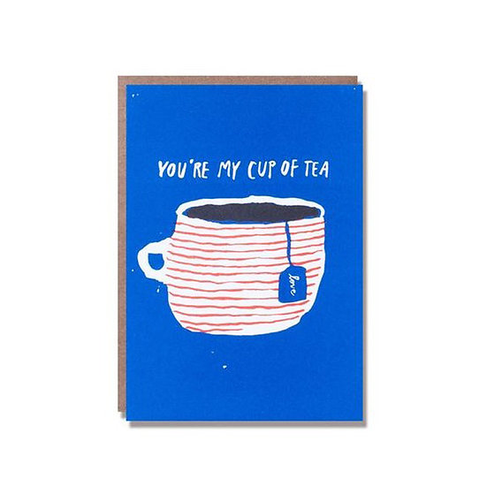 EGG PRESS Cup of Tea Card