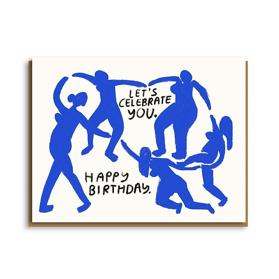 PEOPLE I'VE LOVED Celebrate You Card