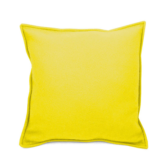 WHOLESALE Felt Cushion Yellow