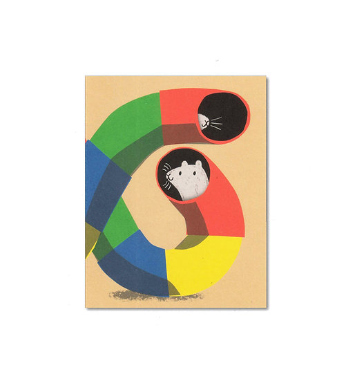 LISA JONES STUDIO Hamster Card