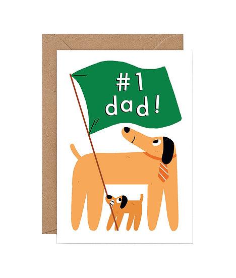 ELLIOT KRUSZYNSKI #1 Dad Card