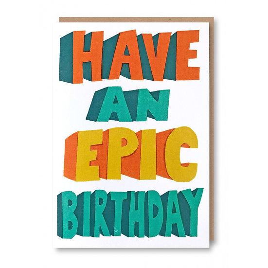 SUKIE Epic Birthday Card