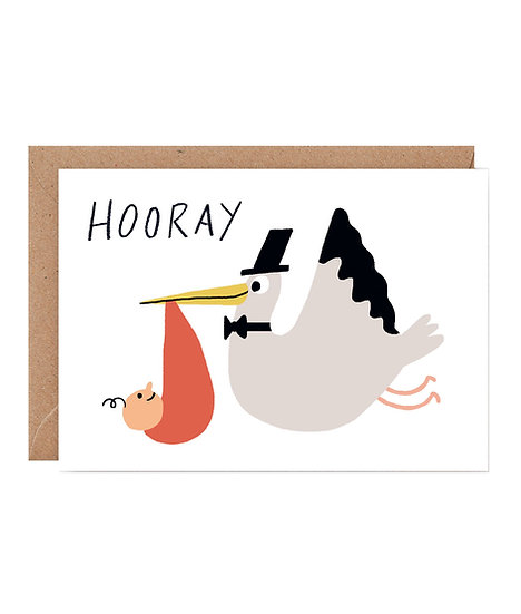 ELLIOT KRUSZYNSKI Hooray Card