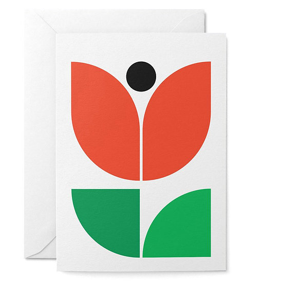 GRAPHIC FACTORY Tulip Card