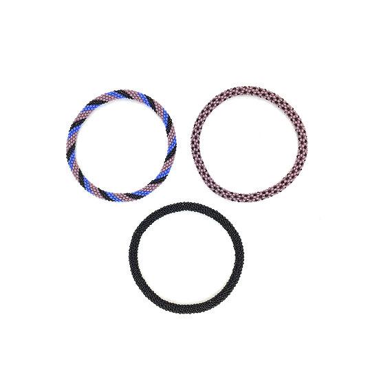 KENTE PROJECT Bracelets Mauve