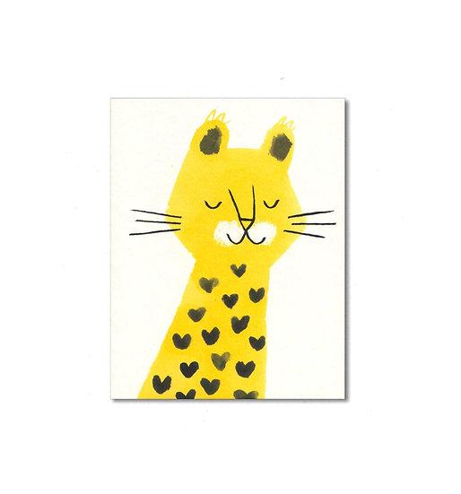 LISA JONES STUDIO Leopard Card