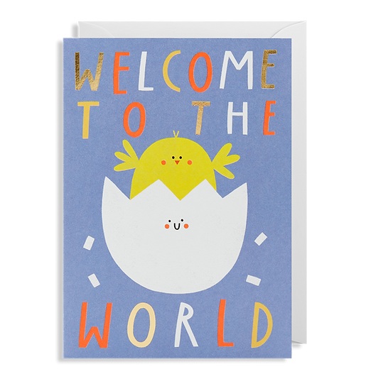 SUSIE HAMMER Welcome Baby Card