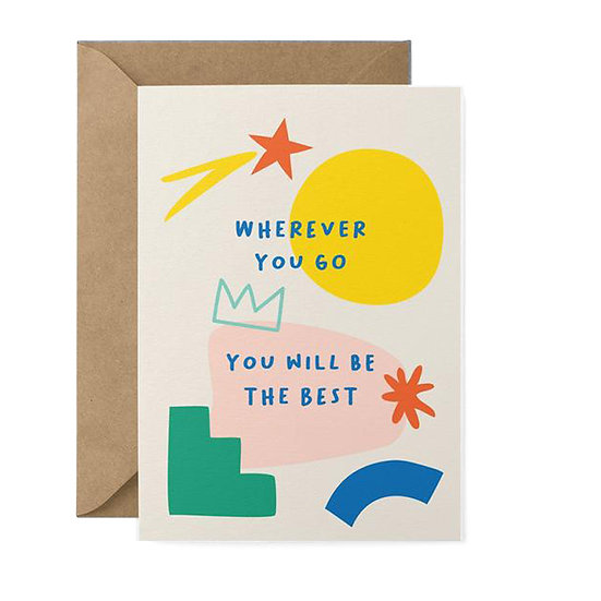 GRAPHIC FACTORY Be The Best Card
