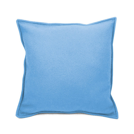 SCENERY LABEL Felt Cushion Powder-blue