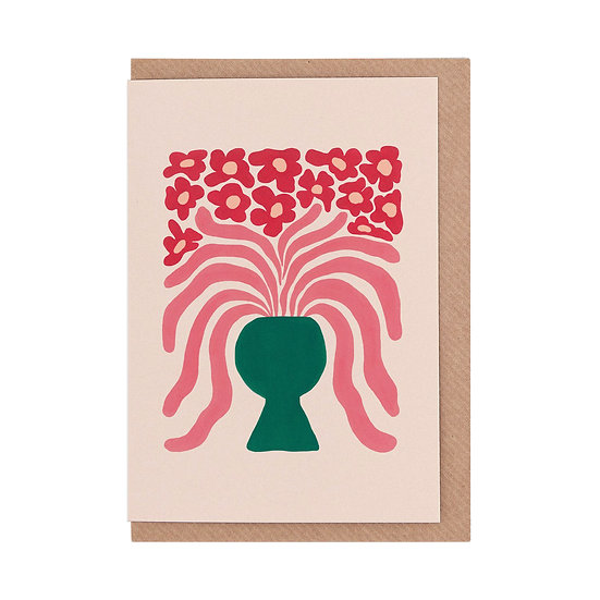 LIV LEE Agapanthus Card