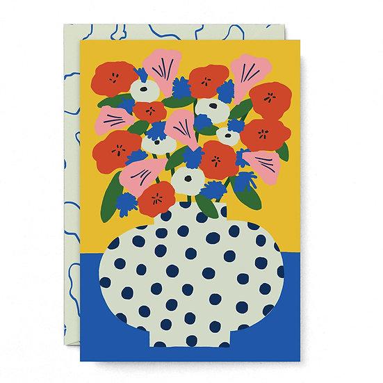 KARL-JOEL LARSSON Flowers Card