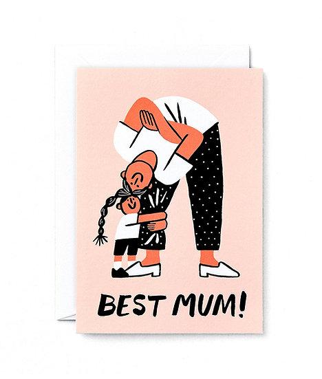 CARI VANDER YACHT Best Mum Card