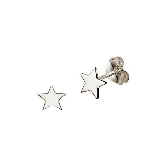 JUULRY Star Stud Earrings Silver