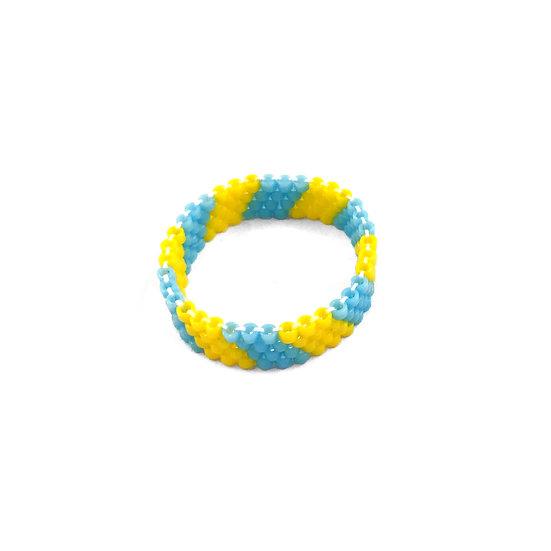 ROCKETREY Ring Blue Stripe