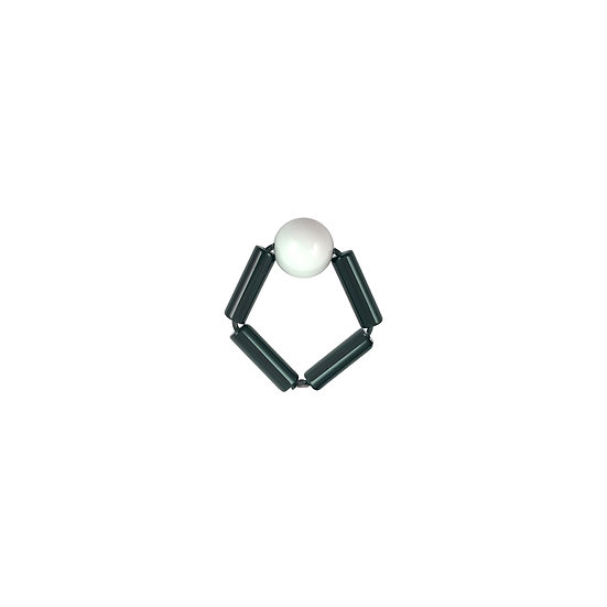 WHOLESALE Bead Ring White Ball