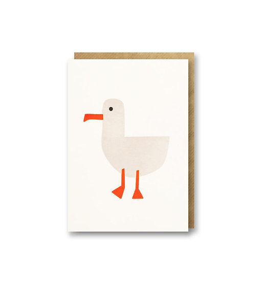BITS AND BOBS Sea Gull Card