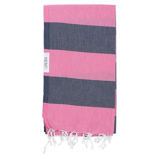 LUALOHA Blue Pink Towel