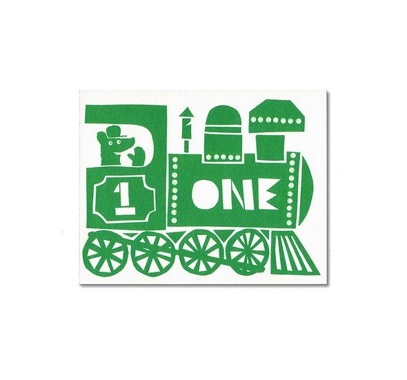 LISA JONES STUDIO One Train Card