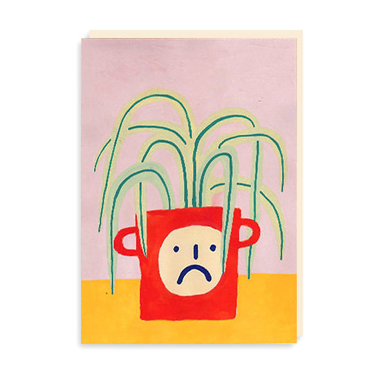 PANSY Spider Plant Card