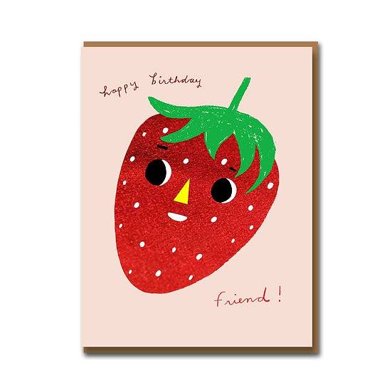 CAROLYN SUZUKI Strawberry Card