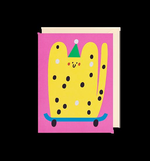 SUSIE HAMMER Cat Card